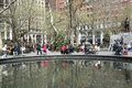 Madison square park Arkivfoto