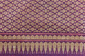 Madmhee of textiles native to thailand Stock Photos