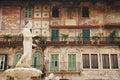 The Madonna Verona, Piazza Delle Erbe Royalty Free Stock Photo
