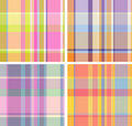 Madras-Check Stockfotos