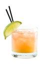 Madras, vodka, cranberry and orange juice Royalty Free Stock Photo