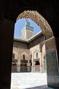 Madrasa in Fez, Morocco Royalty Free Stock Photo