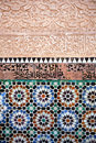 Madrassa Tiles II Royalty Free Stock Photography