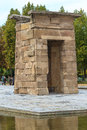 Madrid ancient egyptian temple of debod spain Royalty Free Stock Photos
