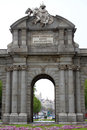 Madrid arch Royalty Free Stock Photography