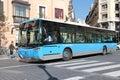Madrid bus Royalty Free Stock Photos