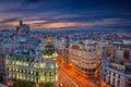 Madrid. Royalty Free Stock Photo