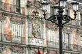 Madrid - Plaza Mayor Royalty Free Stock Photo