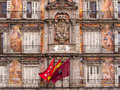 Plaza Mayor Madrid Spain Royalty Free Stock Photo