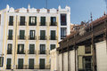 Madrid Spain: buildings Royalty Free Stock Photo