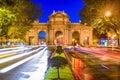 Madrid Spain Gate