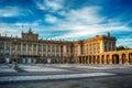 Madrid, Spain: the Royal Palace, Palacio Real de Madrid Royalty Free Stock Photo