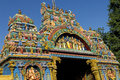 Madurai meenakshi temple travel temples entrance tower a historic hindu located on the southern bank of the vaigai river in Royalty Free Stock Photos