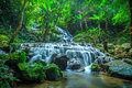 mae kampong waterfall chiangmai thailand Royalty Free Stock Photo