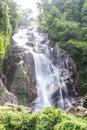 Mae tia waterval ob long nationaal park in chiangmai thailand Royalty-vrije Stock Foto's
