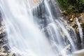 Mae tia waterval ob long nationaal park in chiangmai thailand Stock Foto's