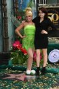 Mae whitman tinker bell and at s star on the hollywood walk of fame hollywood ca Royalty Free Stock Photos