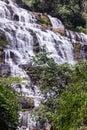 Mae Ya waterfall  in Chiang Mai, Thailand Royalty Free Stock Photo