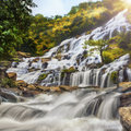 Mae ya waterfall in doi inthanon national park chiang mai thailand Stock Photo