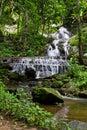 Maekampong Waterfall In Chiangmai Stock Photography