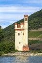 Maeuseturm in Bingen, Germany Royalty Free Stock Photo