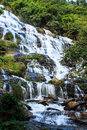 Maeya water fall of chiangmai thailand Royalty Free Stock Photography