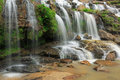Maeya waterfall of chiangmai thailand Royalty Free Stock Image