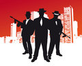 Mafia Gang Royalty Free Stock Photo