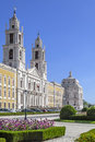 Mafra national palace baroque masterpiece convent and basilica in portugal franciscan religious order architecture Royalty Free Stock Photo