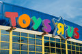 Magasin de toys r us Photos libres de droits