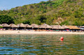 Magay Bay Huatulco Mexico Royalty Free Stock Photo
