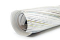 Magazine roll and isolated Royalty Free Stock Photo