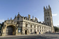 Magdalen college oxford oxfordshire england uk Stock Photos