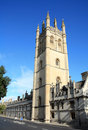 Magdalen College Oxford UK Royalty Free Stock Photos