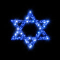Magen David Star Royalty Free Stock Photo