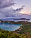 Magens Bay on St Thomas USVI Royalty Free Stock Photography