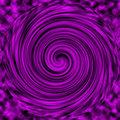 Magenta black swirled ABSTRACT Royalty Free Stock Photo