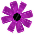 Magenta bow Stock Photos