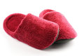 Magenta Slippers Confuse Stock Photography