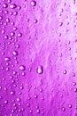 Magenta water drops