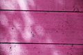 Magenta wooden fence color shot of an Royalty Free Stock Photos