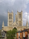 Magestic cathedral in York Royalty Free Stock Photo