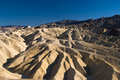 Magestic Golden Canyon in Death Valley Royalty Free Stock Images