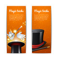 Magic Banners Set Royalty Free Stock Photo
