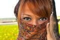 Magic beautiful Arabian woman Royalty Free Stock Photo