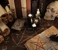Magic Book With Pentagram, The...