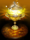 Magic bowl Royalty Free Stock Photo