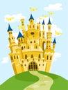 Magic castle Royalty Free Stock Photo