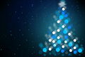 Magic Christmas night background Royalty Free Stock Photo