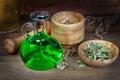 Magic elixir,philtre Royalty Free Stock Photo